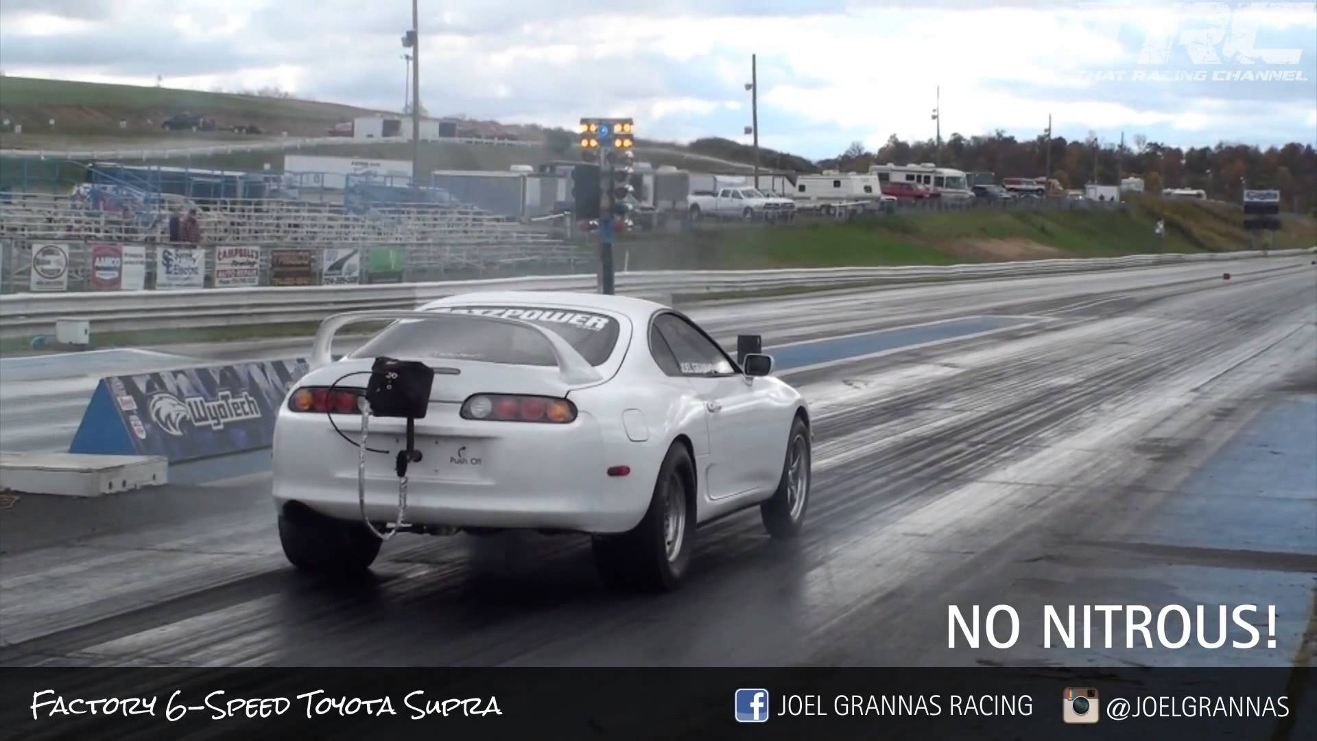 this-toyota-supra-bends-time-and-space Gorgeous Porsche 918 Spyder Drag Race Cars Trend