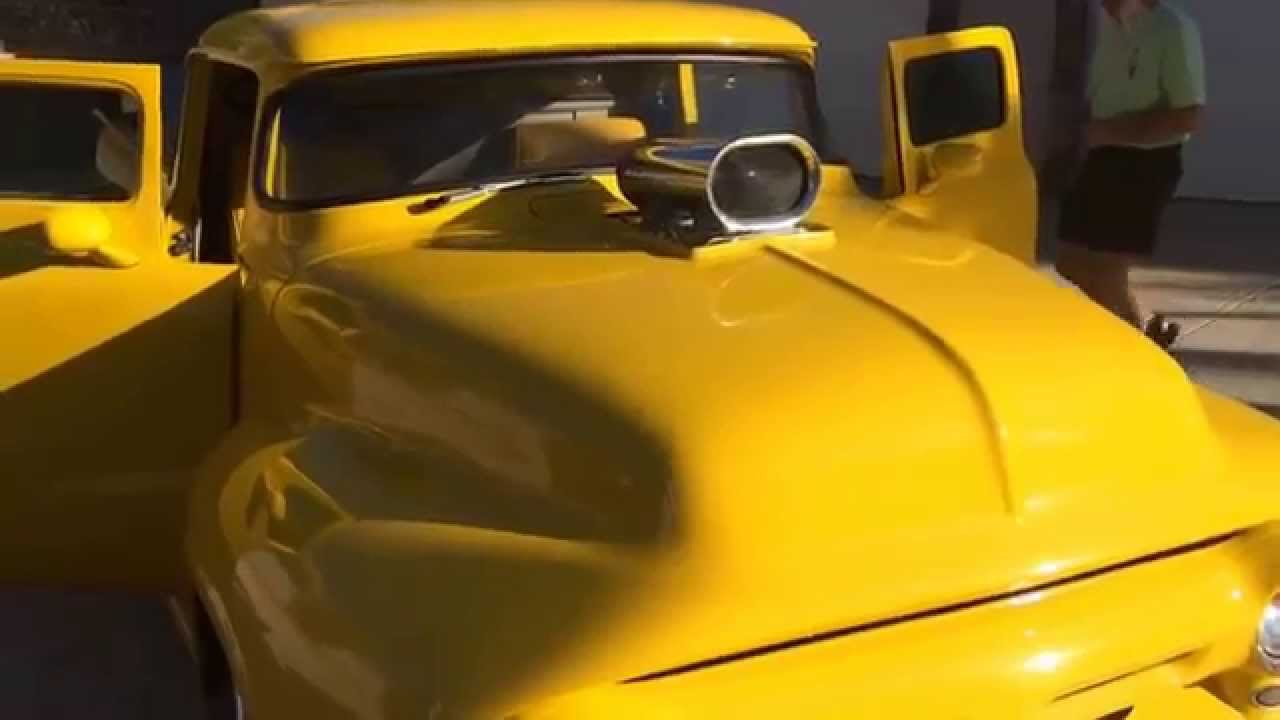 1250hp Customized 1955 Chevrolet Pro Street Build That Will Take Ford F100 Youtube Check Out This Amazing Modified 1956
