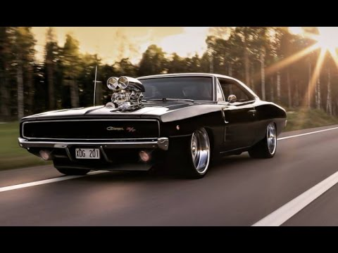 Watch Dodge Charger Doing Epic Burnouts - Cool cars doing burnouts