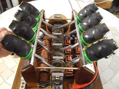Get A Look At This Incredible Homemade V8 Solenoid Engine Made From ...