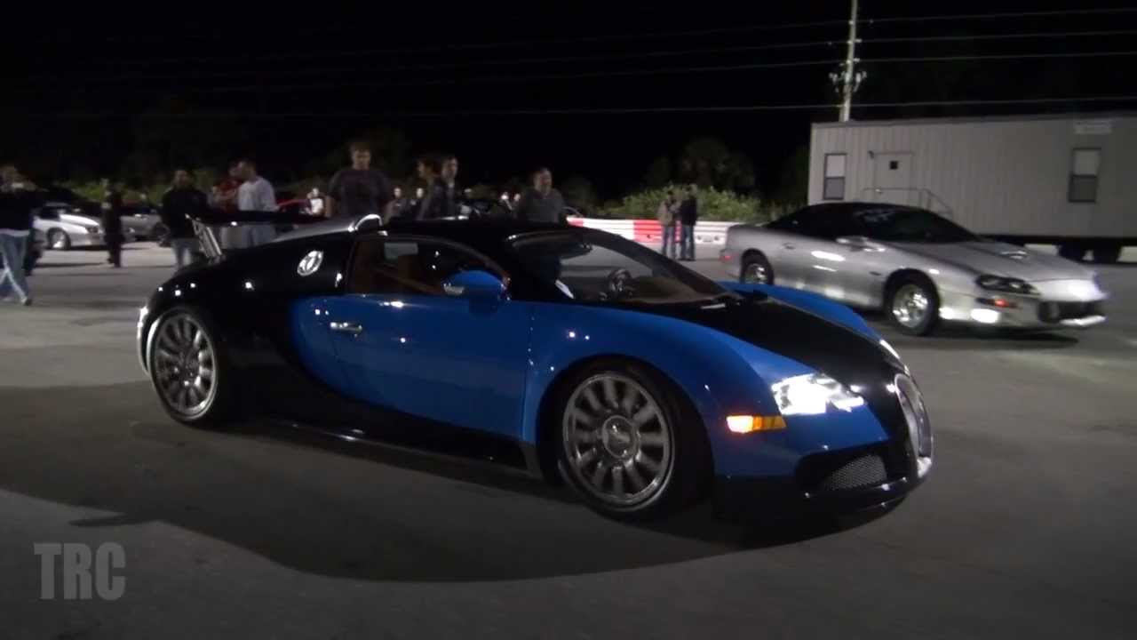 Bugatti Veyron Vs Nissan R35 Gtr In A Quarter Mile Drag Race