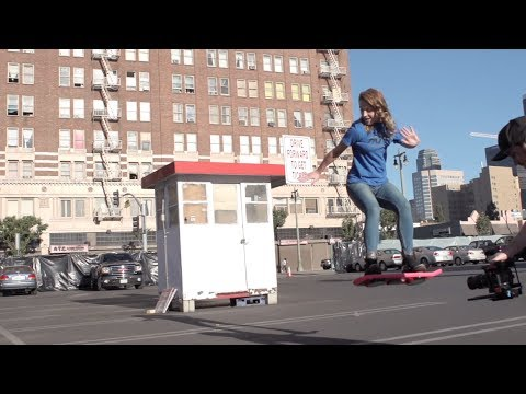 0a6b1955226b7 Is The HUVr Tech Hoverboard Real? Tony Hawk & 'Back to the Future's  Christopher Lloyd Says 'Yes, They Are.'