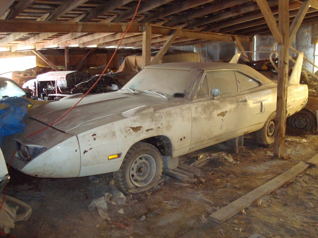 Amazing Check Out This Epic Barn Find In