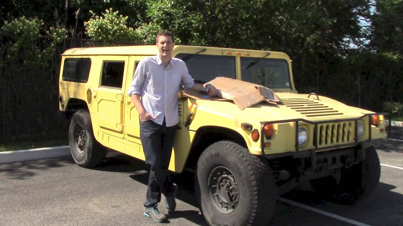 The Hummer H1 Is Like No Other When It Comes To Fuel Consumption