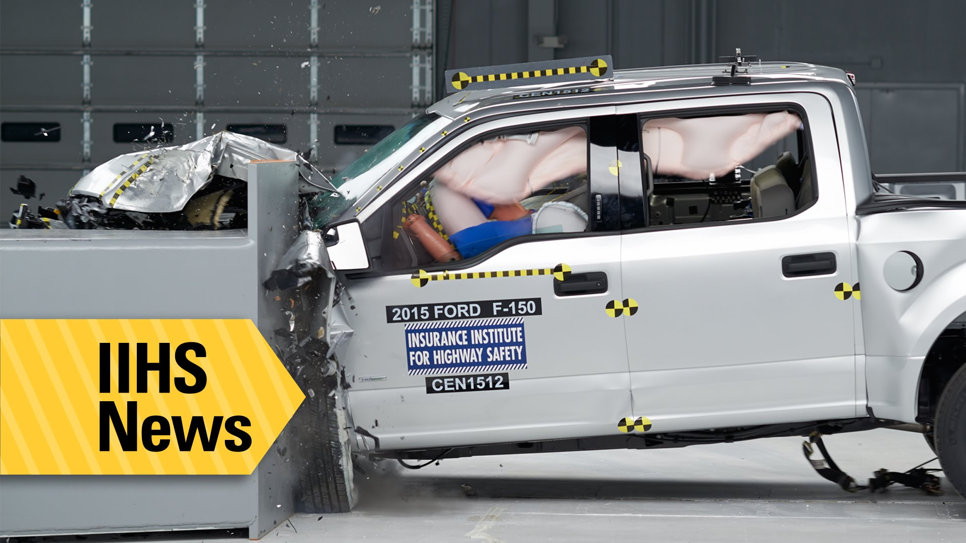 The Ford F150 S New Aluminum Body Has Resulted In It Being Rated One Of Insutes Top Safety Vehicles
