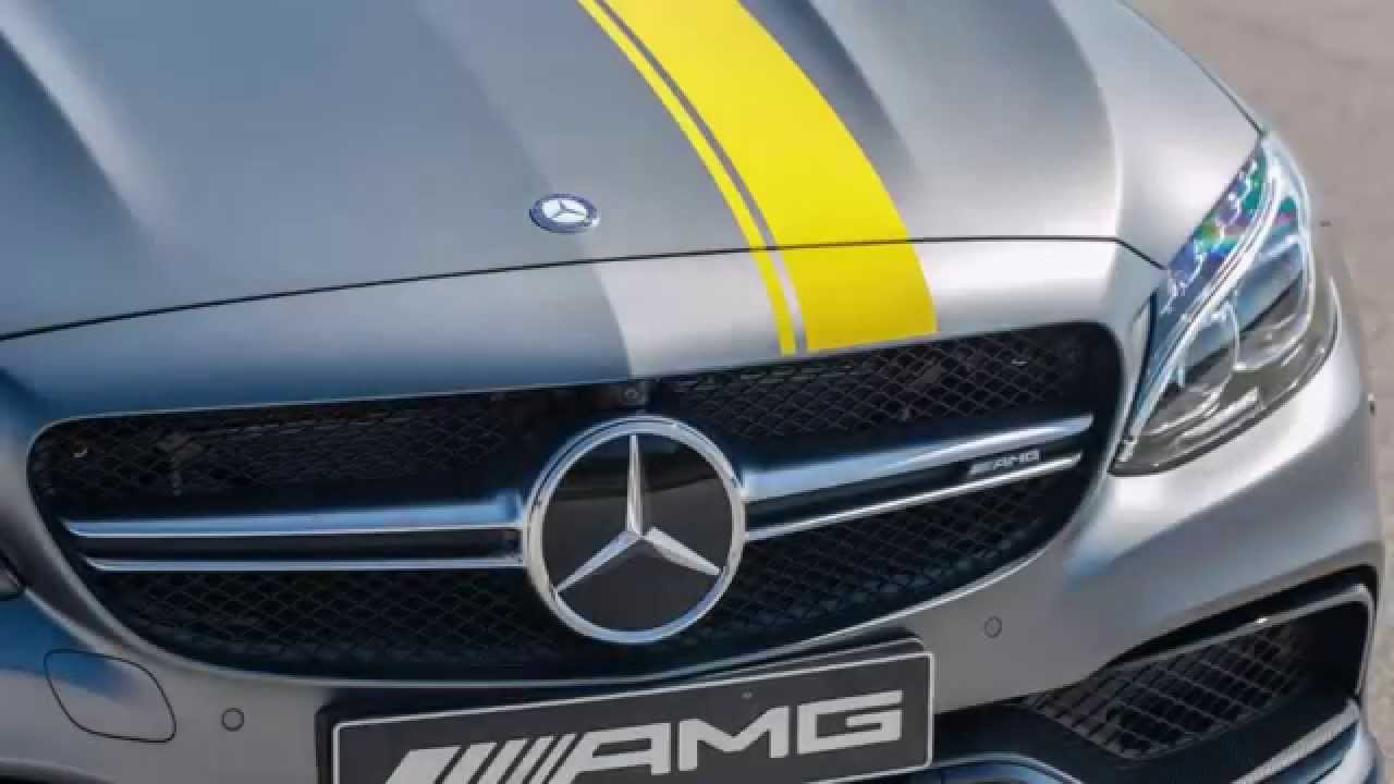 Look Stylish While Driving The 2017 Mercedes-Benz C63 AMG Coupe ...