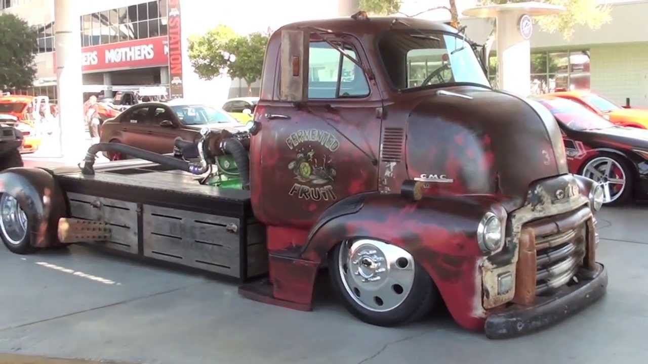 Check This Monster Gmc Rat Rod Mid Engine Turbo Diesel Truck
