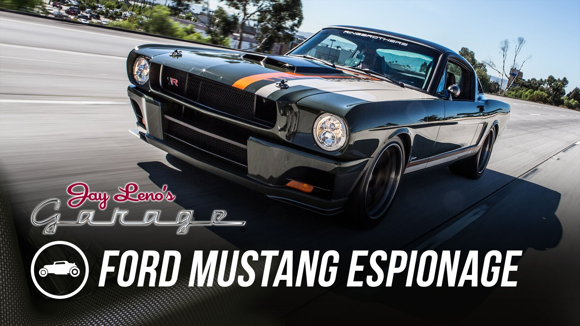 Custom Carbon-Fiber \'65 Ford Mustang Espionage Is MOST AWESOME ...