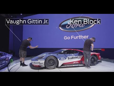 Ken Block And Vaughn Gittin Jr Had To Say Some Crazy Things About The New Ford Gt
