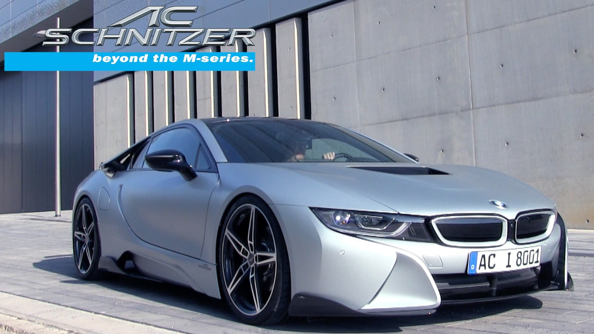 Tuning Version Of The Bmw I8 Is Better Than The Original
