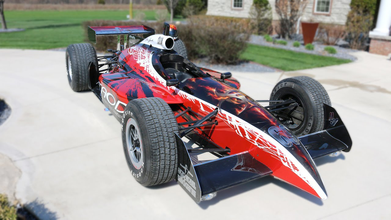 Artist Built Street Legal Indycar Is An Electric Ed Head Turning Piece Of Rolling Art