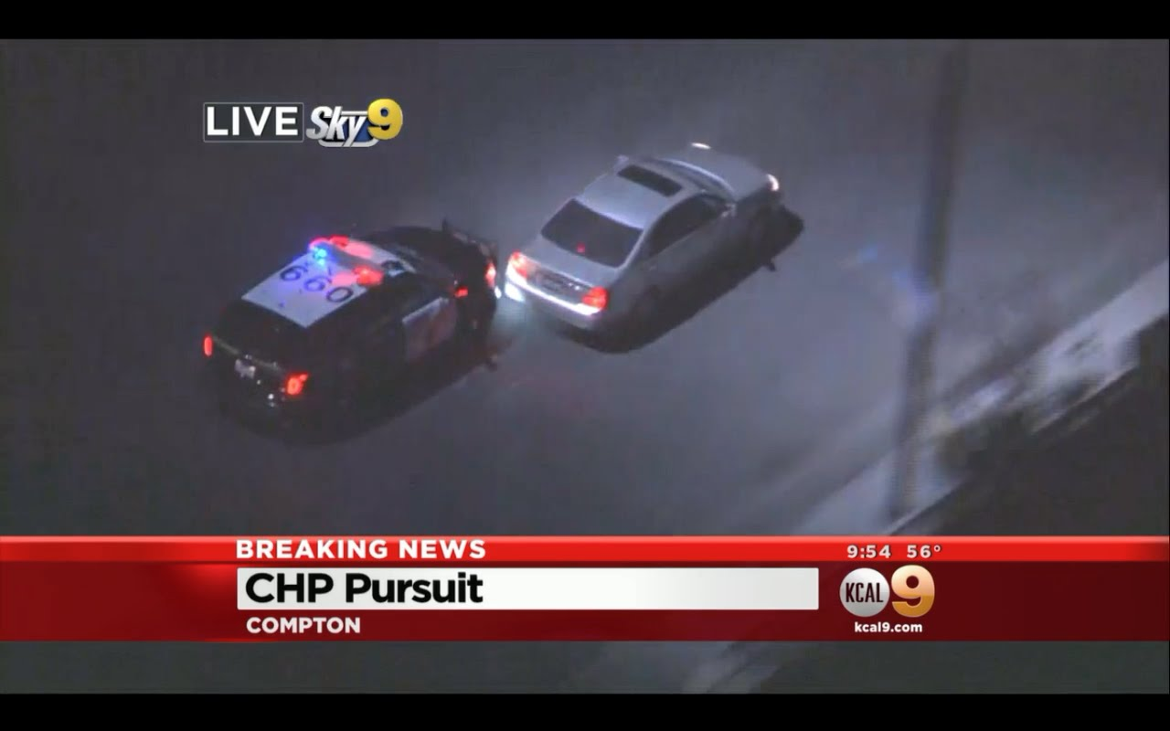 Check Out This INSANE Car Chase From Los Angeles