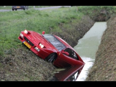 I Know U Love Supercar Crashes Will This Exotic Car Wreck Compilation Video