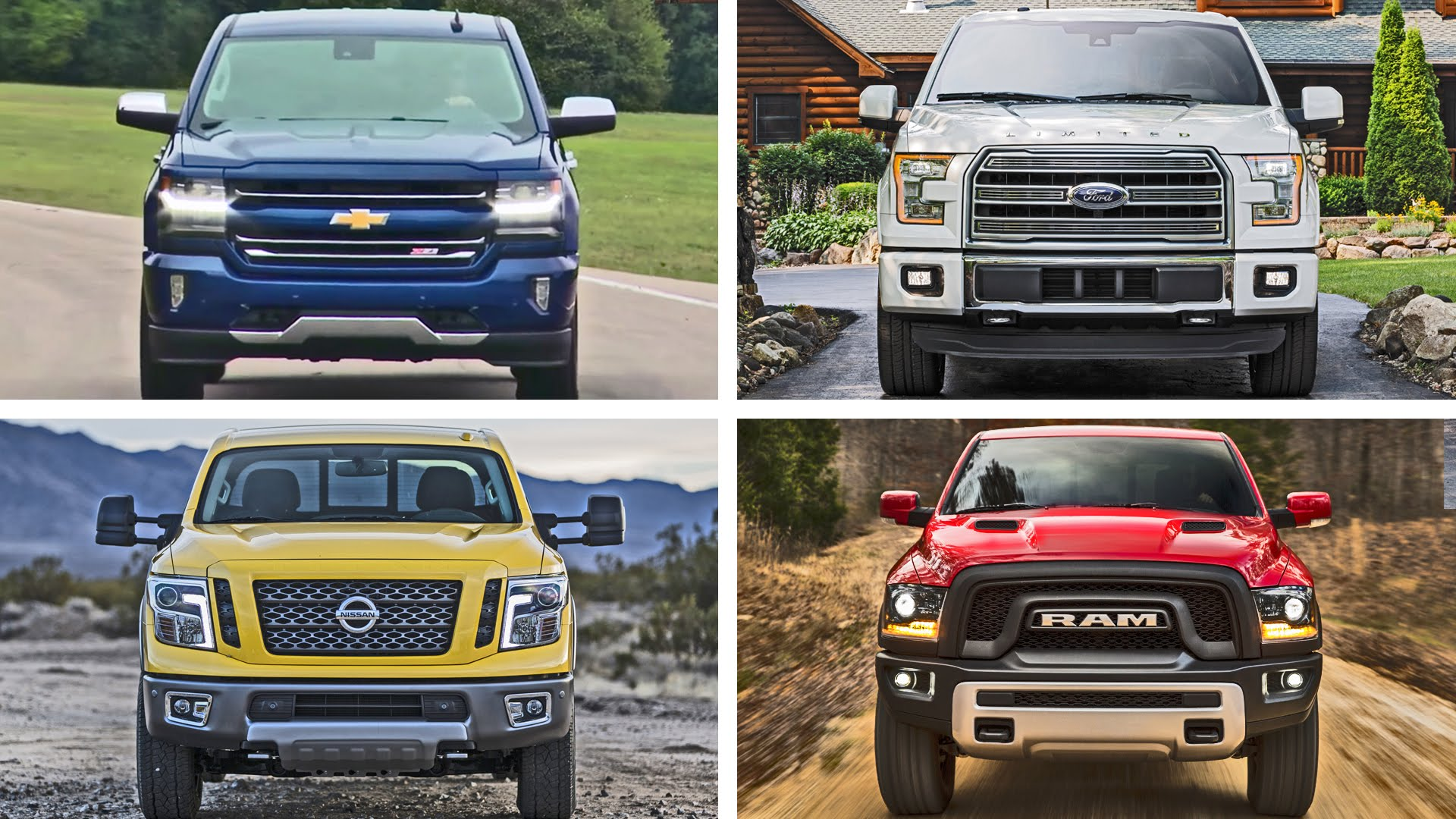 Check Out The Top 10 Pickup Trucks We Are Looking Forward To In 2016