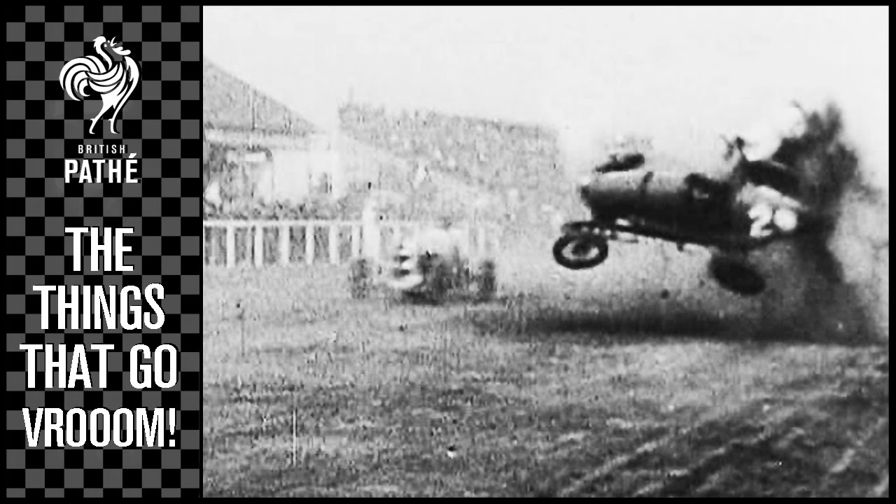 Insane Vintage Racing Crashes Will Blow Your Mind With Their Ferocity