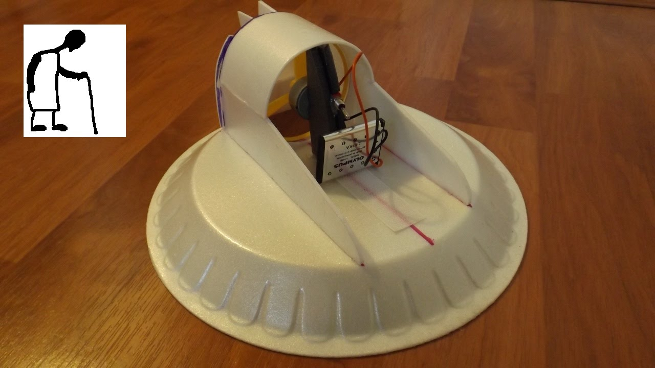 Learn how to create your very own styrofoam plate hovercraft solutioingenieria Choice Image