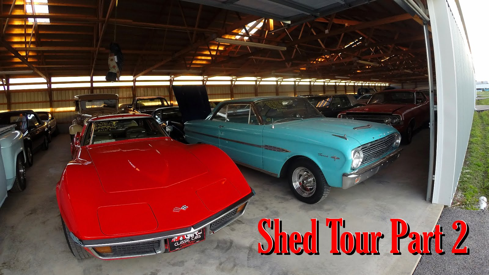 Check Out The Incredible Classic Cars All Under The Roof Of The ...
