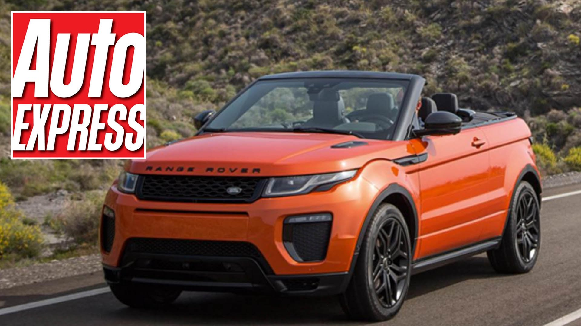 The Brand New Range Rover Evoque Convertible Is Turning Heads And