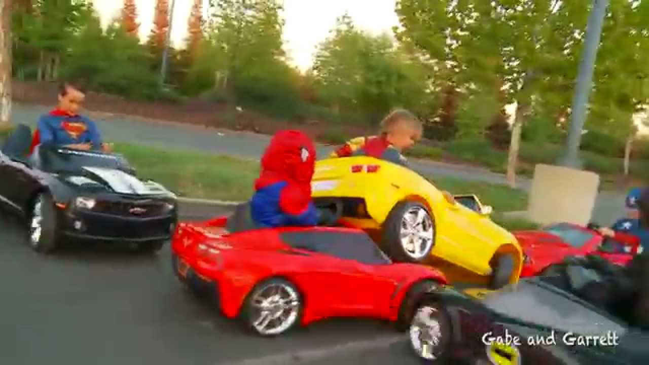 The Kids Take On The World Of Racing In This Super Power Wheels ...