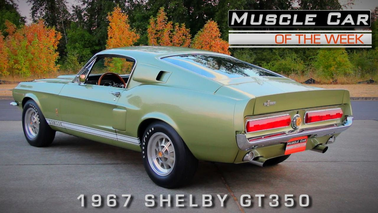 This 1967 Shelby GT350 Represents What American Muscle Cars Are All ...