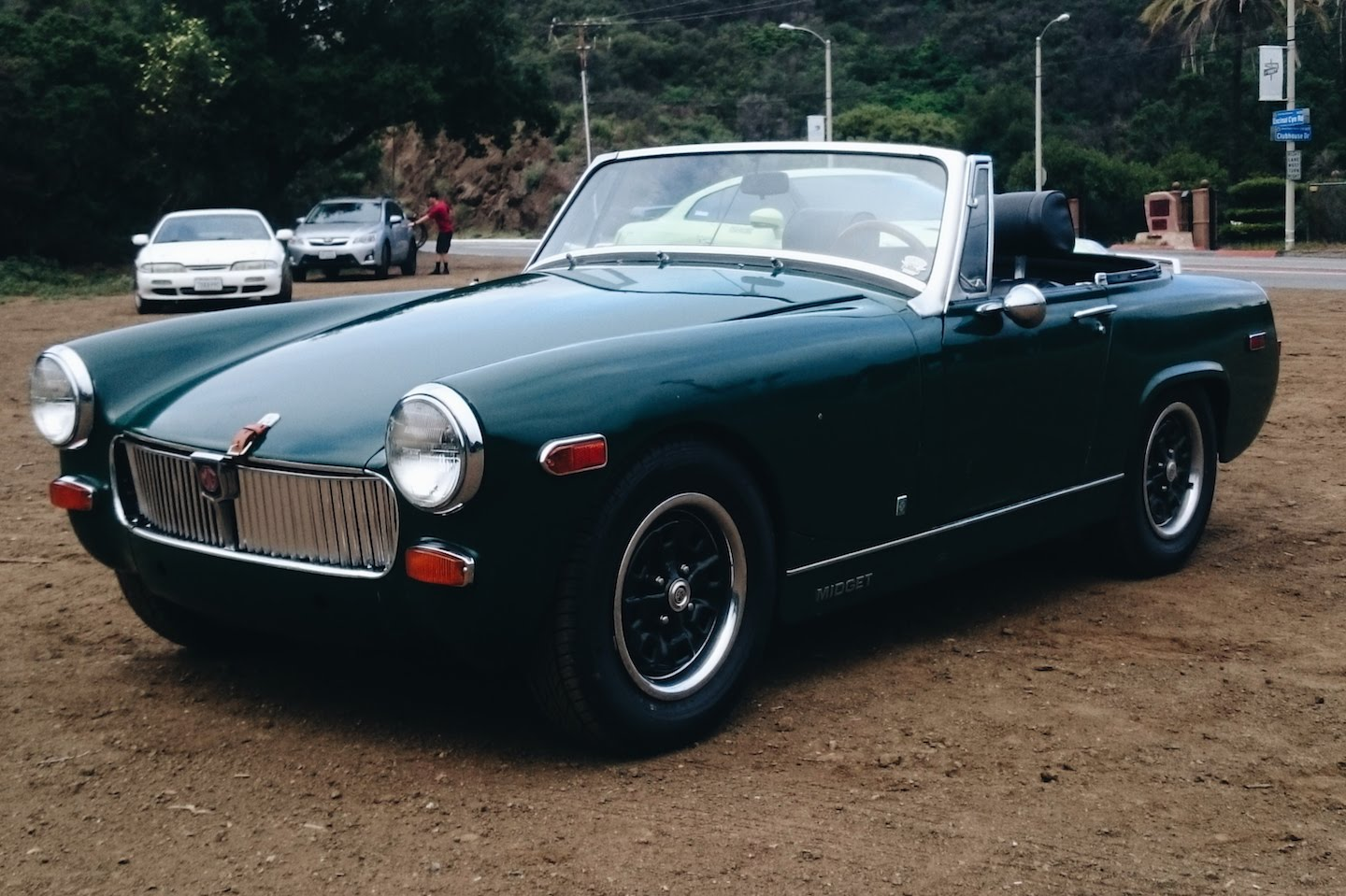 What Buy mg midget car got nothing