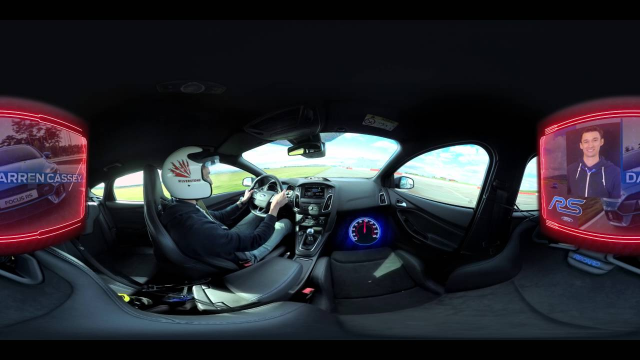 Ford Focus RS Driving On A Track Filmed In 360 Degree Is Astonishing