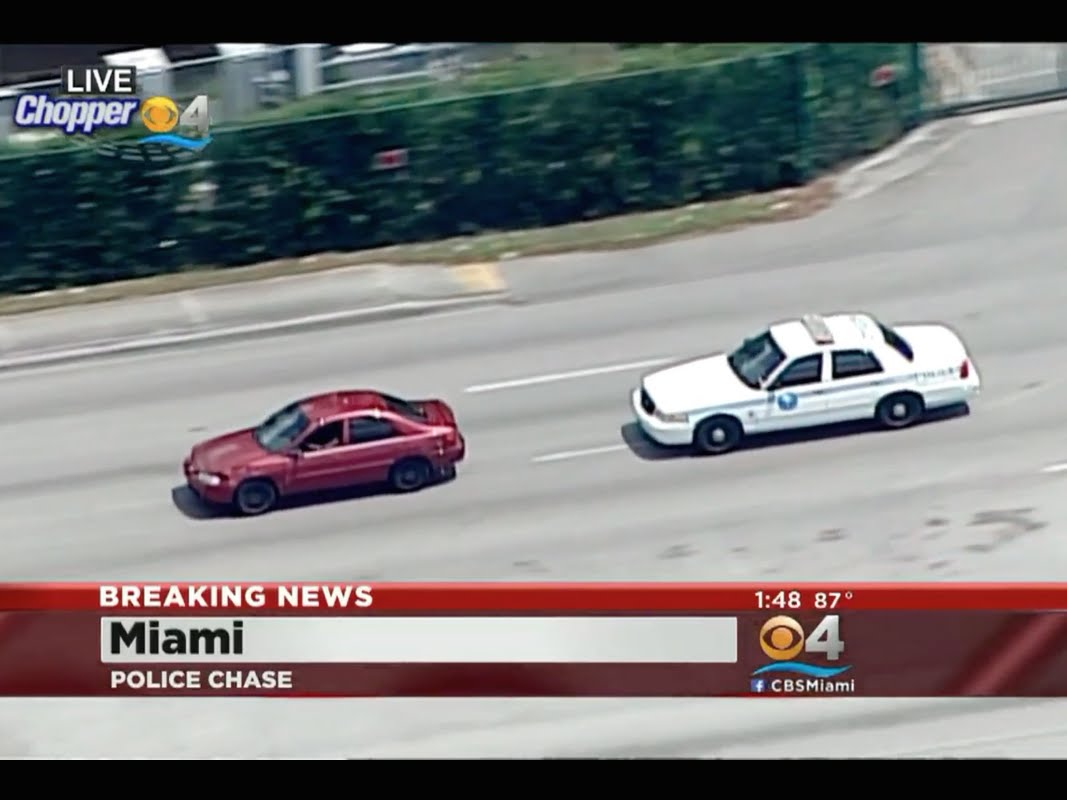 should high speed police pursuits be banned All this to catch one little guy on a motorcycle that we all, already know a police car w  for high speed pursuits  should high speed police.