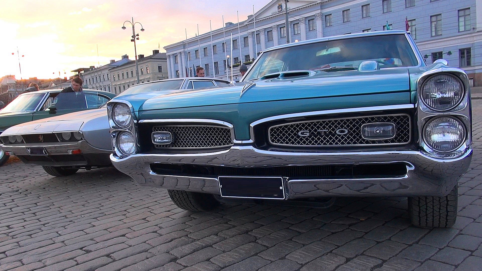 Winter is Over in Helsinki, Muscle Cars are Back!