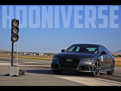 2016 Audi RS7 Performance Takes On Shift Sector