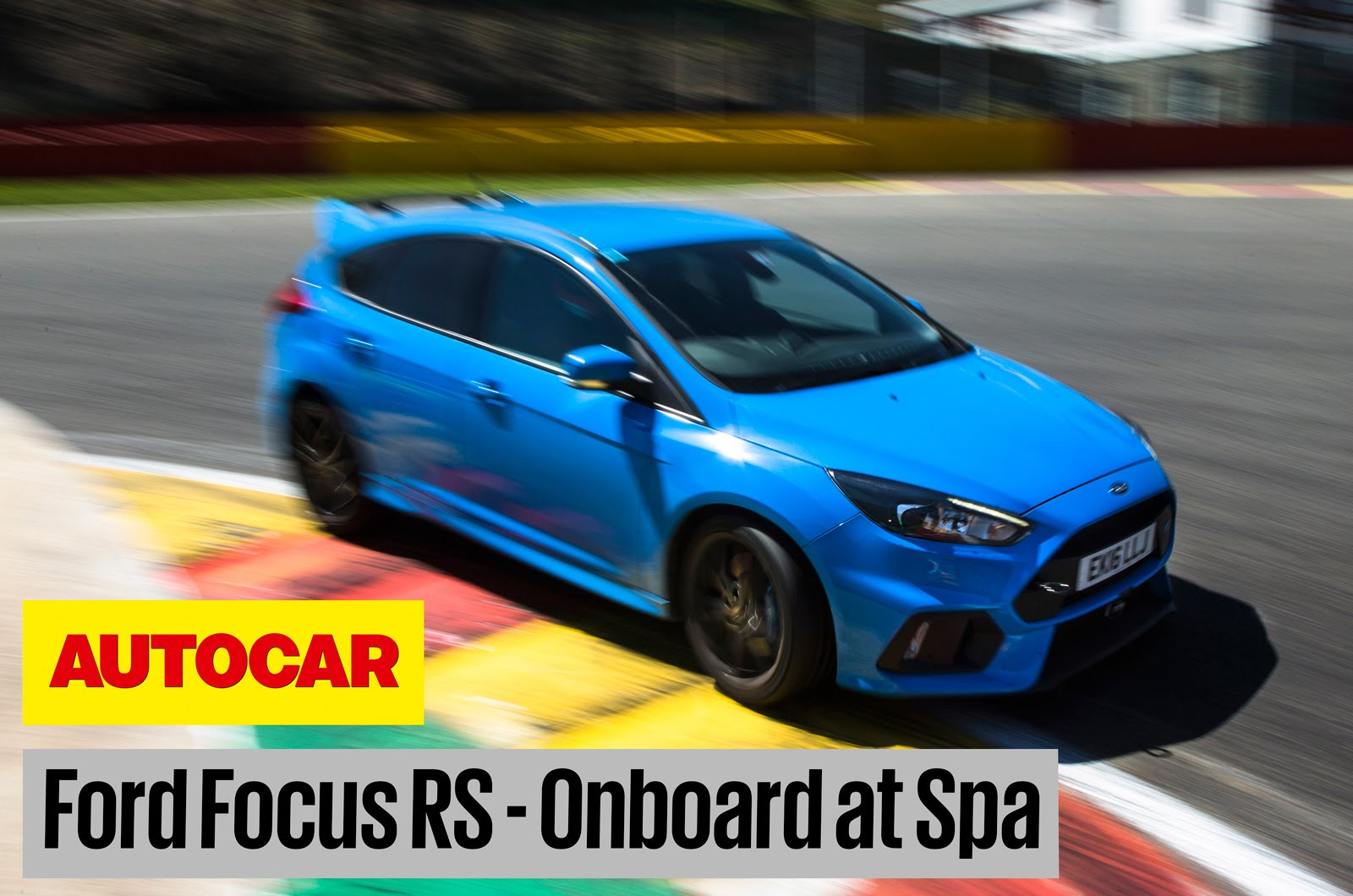 2016 Ford Focus RS Chases Porsche Cayman GT4 On Spa, Will The Hot Hatch Keep Up?