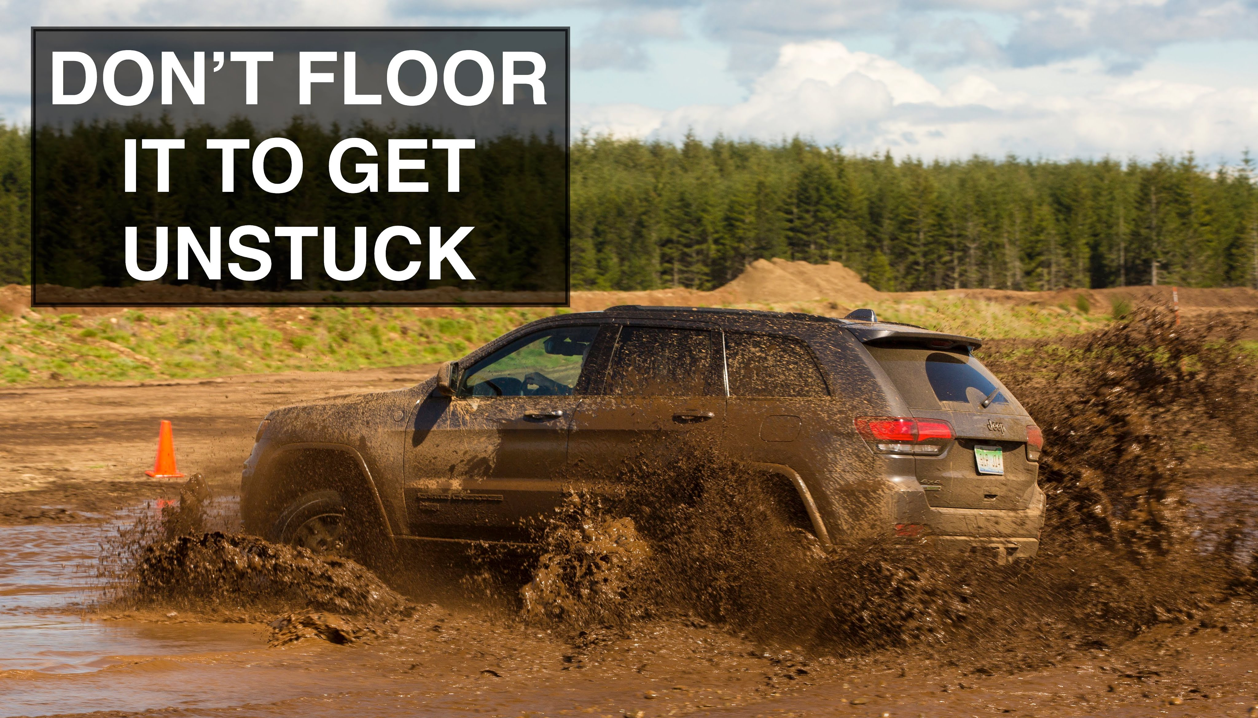 5 Things You Should Never Do In A 4X4 Or 4WD Vehicle