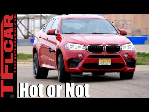BMW X6 M Road, Track And 0-60 MPH Review