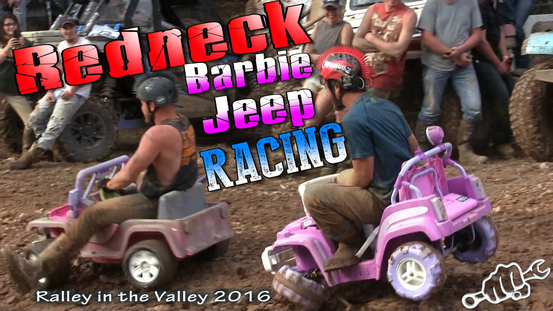 Check Out The Hilarious Highlights From Redneck Barbie Jeep Racing 2016