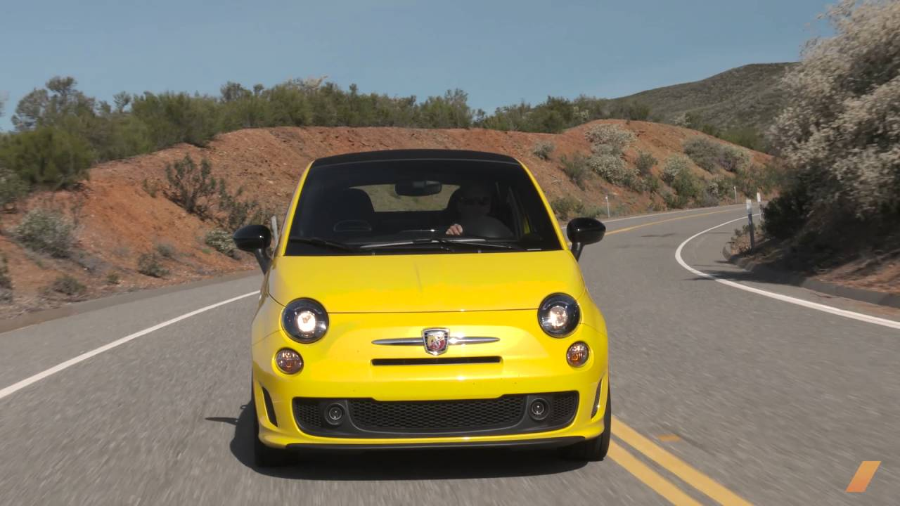 Fiat 500C Abarth Is A Tiny Car In Which You Can Have A Lot Of Fun