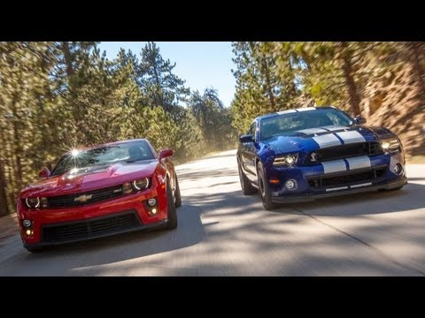 Ford Shelby GT500 Goes Head-To-Head With Chevrolet Camaro ZL1