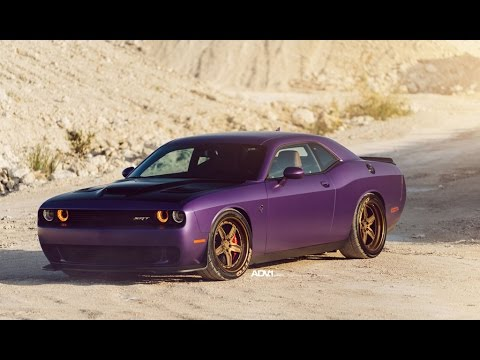 Mesmerizing Video Shows Of New Wheels For The Dodge Challenger Hellcat