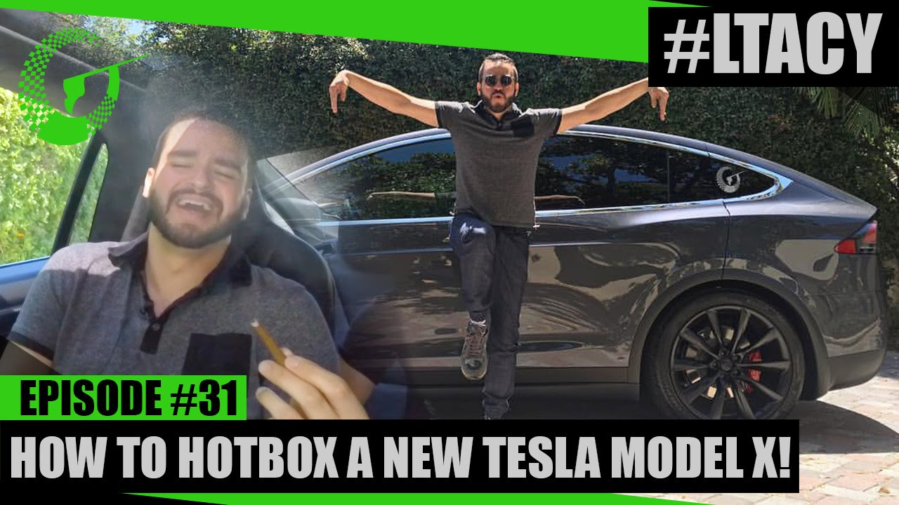 Smoking Weed In The Tesla Model X To Test Our Air Recirculation Is Incredibly Awesome