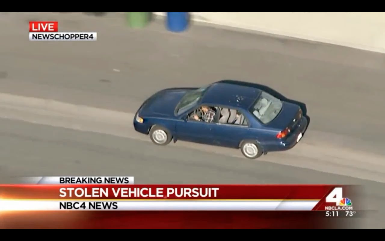 This Los Angeles Police Chase Was Unlike Any Other We've