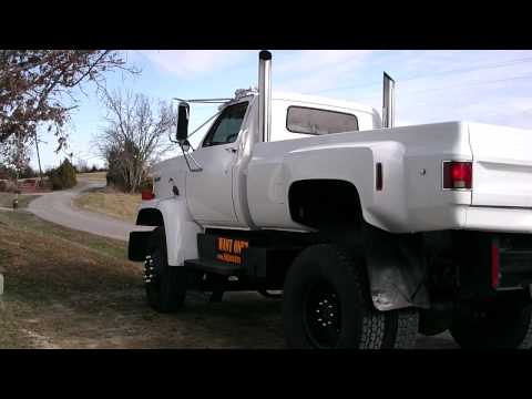 You Will Be Shocked By Who Is Driving This Giant GMC Truck!