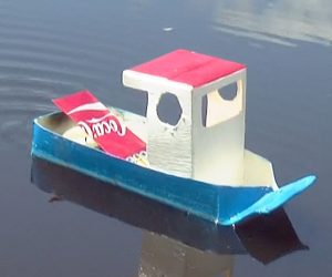 Learn How To Create Your Very Own DIY Pop Pop Boat! AWESOME!