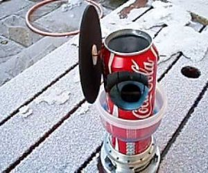 Prepare To Be Amazed By This DIY Coca Cola Can Engine!