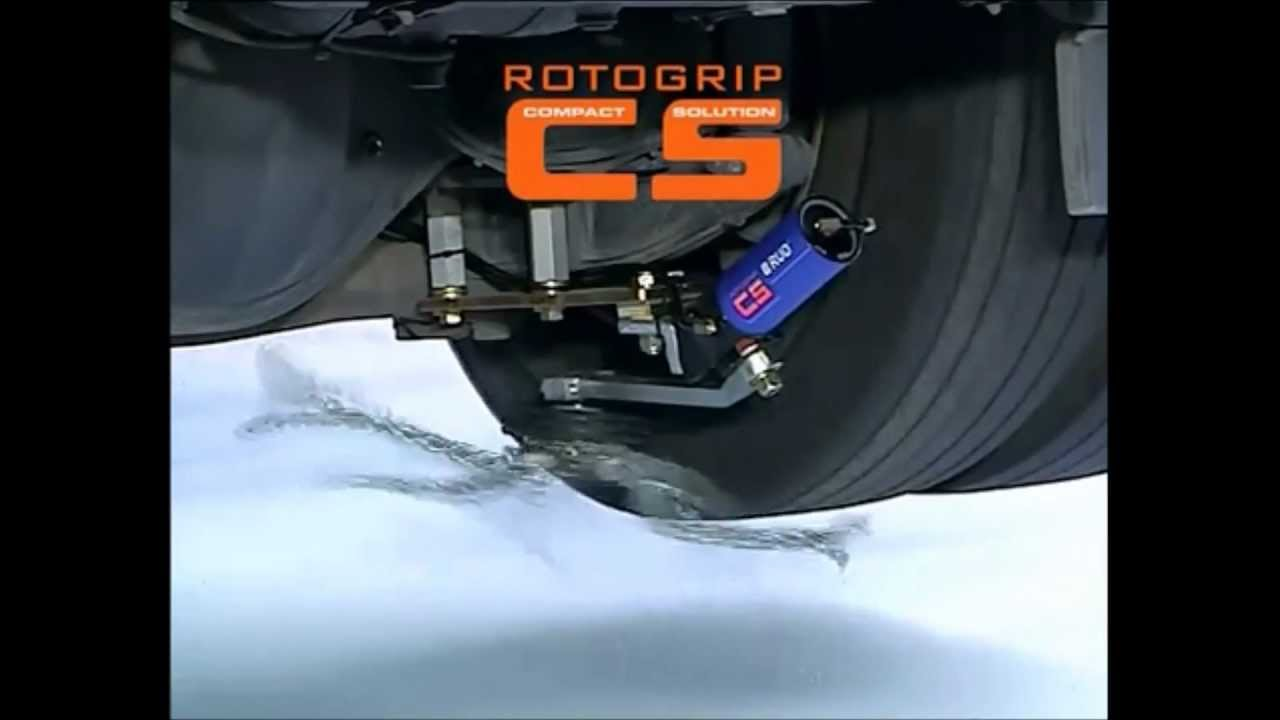Rotogrip Automatic Chain Traction Device Is The Greatest Automotive Invention In 20 Years!