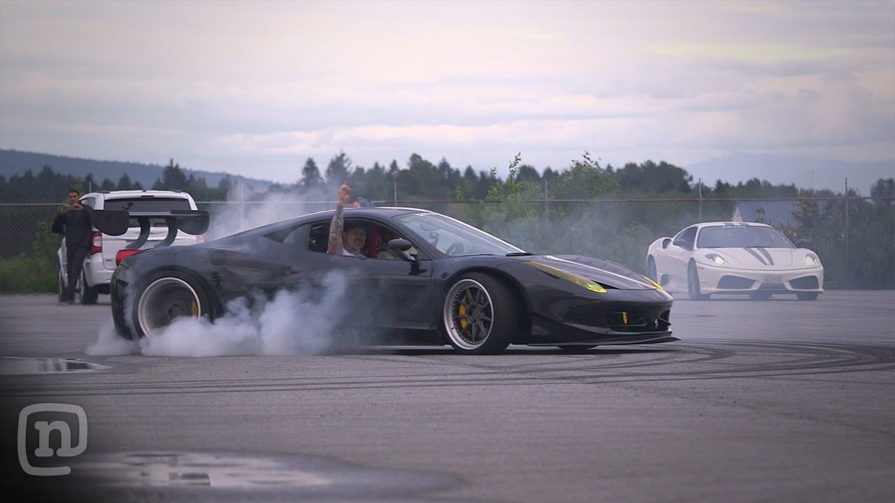 Ryan Tuerck Burns Some Serious Rubber As He Test Drives Some Wild Supercars!