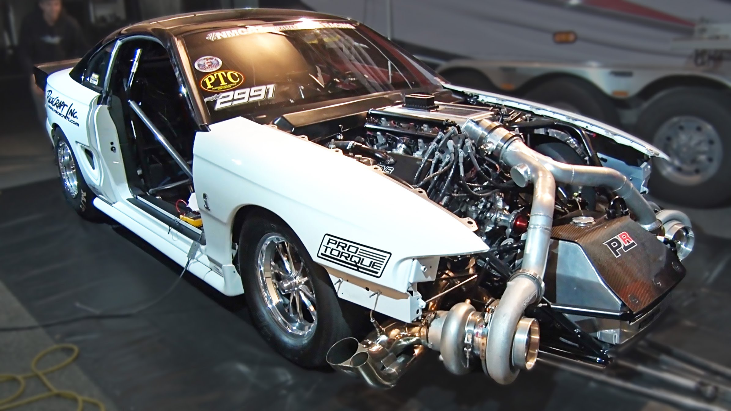 102MM Turbocharger + SN95 Ford Mustang = An Epic Twin Turbo Drag ...