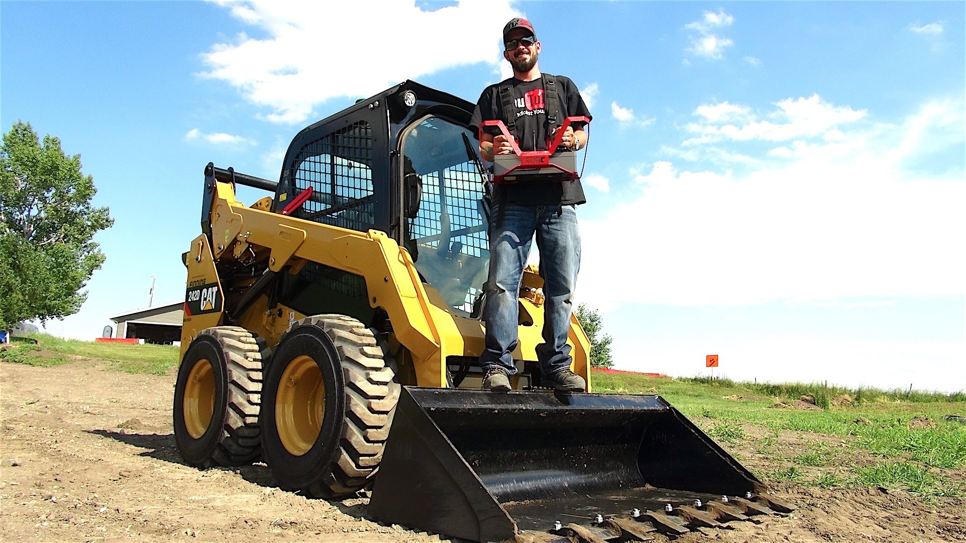 Isn't This RC 2016 Skid Steer 242D The Hugest Radio Control Land Vehicle You've Seen?