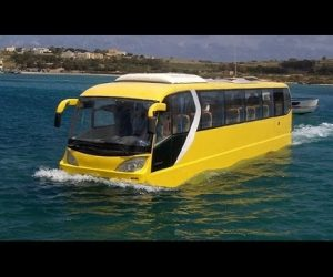 MUST WATCH Video Of The Seven Craziest Amphibious Vehicles You Will Ever See!