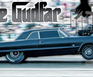 The GudFar Is The Baddest Drag Racing 1963 Chevy Impala In All Of Norway!