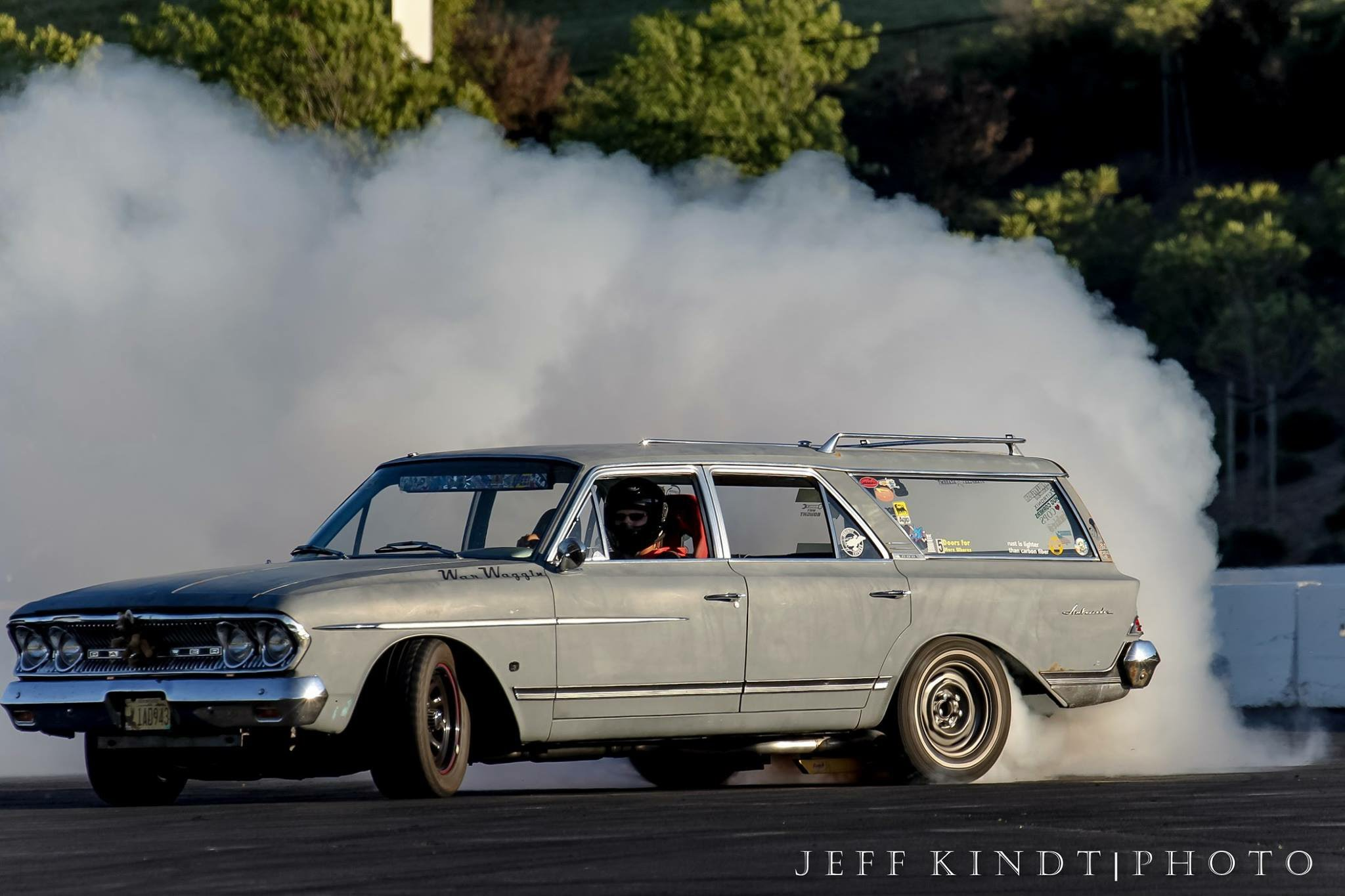 Homebuilt Rambler Ambassador Wagon Is The Funnest Drag Racing Wagon In The World!