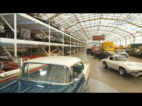 Hungry For Classic Cars This 3 000 Car Garage Will Surely Suffice