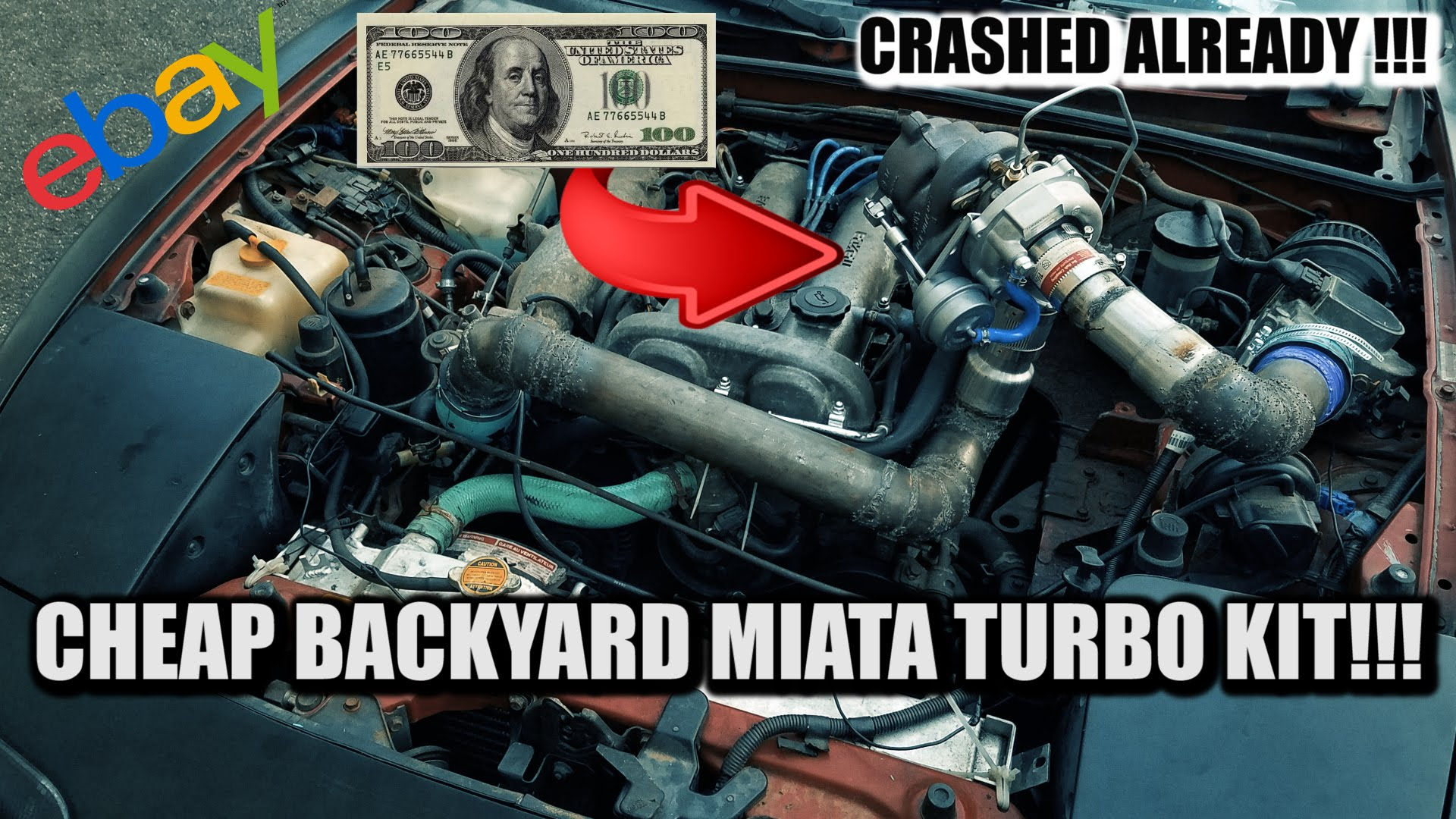 Learn How To DIY $150 Turbo Kit Into A Hard Drifting Miata, Car School Is In Session!